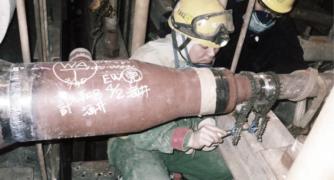 火力発電所ボイラー工事
