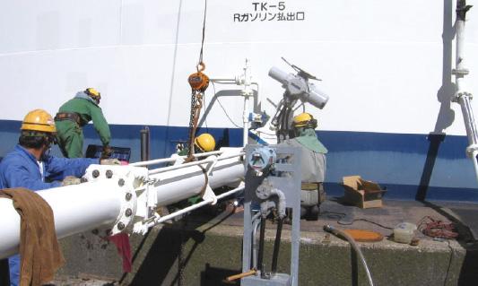 石油基地配管修繕
